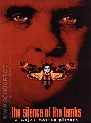 THE SILENCE OF THE LAMBS, JONATHAN DEMME, 1991 - Classic-Movie-Posters reproduction oil painting