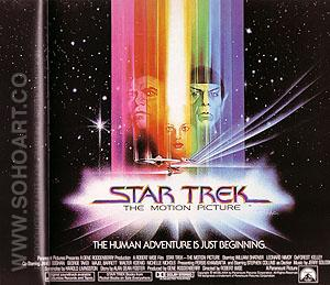 STAR TREK, ROBERT WISE, 1979 - Classic-Movie-Posters reproduction oil painting