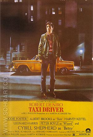 TAXI DRIVER, MARTIN SCORSESE, 1976 - Classic-Movie-Posters reproduction oil painting