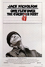 ONE FLEW OVER THE CUCKOO'S NEST, MILOS FORMAN, 1975 - Classic-Movie-Posters reproduction oil painting