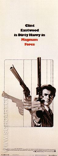 MAGNUM FORCE, TED POST, 1973 - Classic-Movie-Posters reproduction oil painting