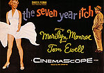 THE SEVEN YEAR ITCH, BILLY WILDER, 1955 - Classic-Movie-Posters reproduction oil painting