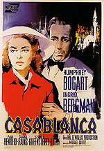 CASABLANCA, 1942 - Classic-Movie-Posters reproduction oil painting