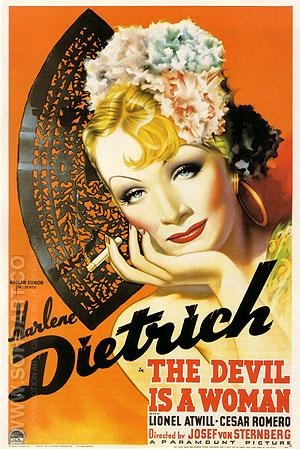 THE DEVIL IS A WOMAN, 1935 - Classic-Movie-Posters reproduction oil painting