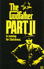 THE GODFATHER, PART II, 1974 - Classic-Movie-Posters reproduction oil painting