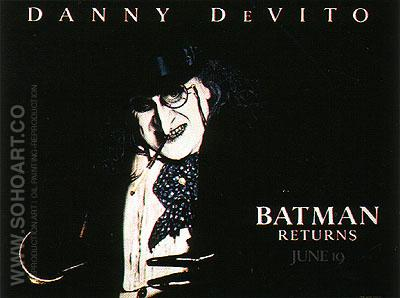 BATMAN RETURNS, 1992 - Classic-Movie-Posters reproduction oil painting