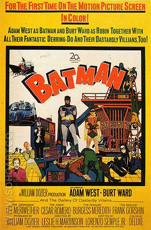 BATMAN, 1966 - Classic-Movie-Posters reproduction oil painting