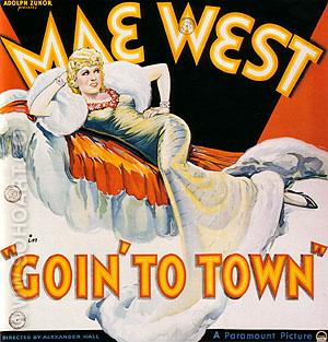 MAE WEST GOIN' TO TOWN, 1935 - Classic-Movie-Posters reproduction oil painting