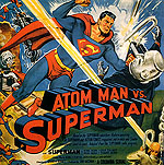 ATOM MAN VS. SUPERMAN, 1950 - Classic-Movie-Posters reproduction oil painting