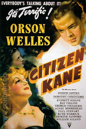 CITIZEN KANE, 1941 - Classic-Movie-Posters reproduction oil painting