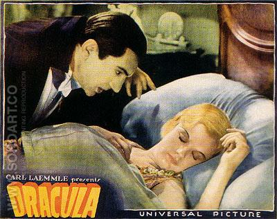 DRACULA, 1931 - Classic-Movie-Posters reproduction oil painting
