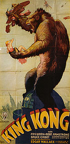 KING KONG, 1933 - Classic-Movie-Posters reproduction oil painting