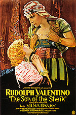 THE SON OF THE SHEIK, 1926 - Classic-Movie-Posters reproduction oil painting