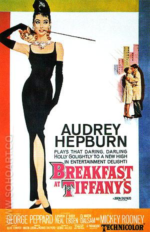 BREAKFAST AT TIFFANY'S, 1961 - Classic-Movie-Posters reproduction oil painting