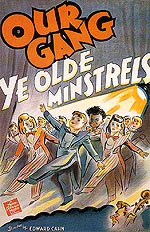 OUR GANG YE OLDE MINSTRELS, 1941 - Classic-Movie-Posters