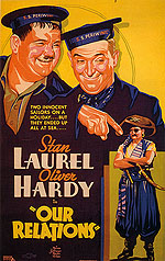OUR RELATIONS, 1936 - Classic-Movie-Posters