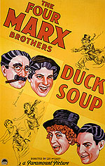 DUCK SOUP, 1933 - Classic-Movie-Posters reproduction oil painting