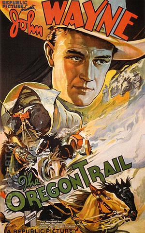 THE OREGON TRAIL, 1936 - Classic-Movie-Posters reproduction oil painting