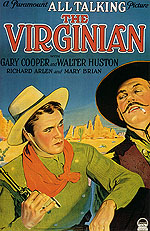 THE VIRGINIAN, 1929 - Classic-Movie-Posters reproduction oil painting