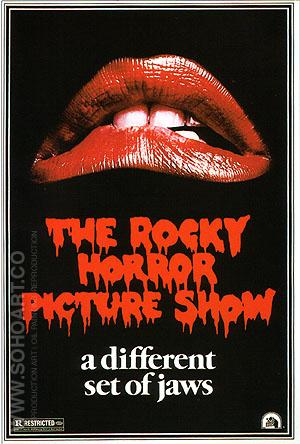 THE ROCKY HORROR PICTURE SHOW, 1975 - Classic-Movie-Posters reproduction oil painting