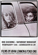 FILMS BY JOHN LENNON & YOKO ONO, 1980 - Classic-Movie-Posters reproduction oil painting