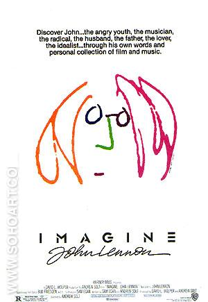 IMAGINE: JOHN LENNON, 1988 - Classic-Movie-Posters reproduction oil painting