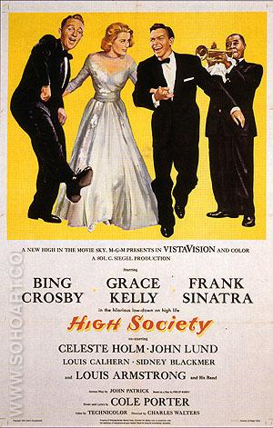 HIGH SOCIETY, 1956 - Classic-Movie-Posters reproduction oil painting