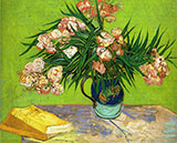 Oleanders, 1888 - Vincent van Gogh reproduction oil painting