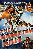 The Game That Kills, 1937 - Sporting-Movie-Posters reproduction oil painting
