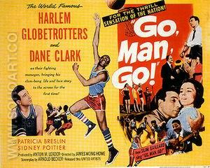 Go, Man, Go!, 1954 - Sporting-Movie-Posters reproduction oil painting