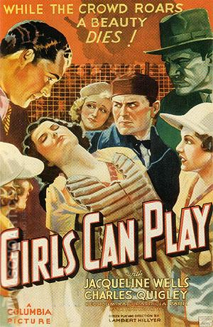Girls Can Play, 1937 - Sporting-Movie-Posters reproduction oil painting