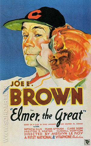 Elmer, The Great, 1933 - Sporting-Movie-Posters reproduction oil painting