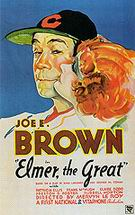 Elmer, The Great, 1933 - Sporting-Movie-Posters