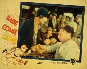 Babe Comes Home II, 1927 - Sporting-Movie-Posters reproduction oil painting