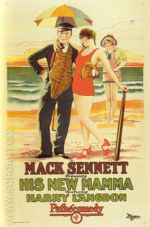 His New Mamma, 1924 - Sporting-Movie-Posters reproduction oil painting