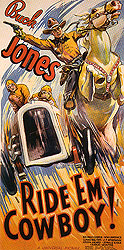 Ride 'EM Cowboy!, 1936 - Sporting-Movie-Posters