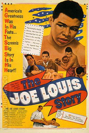 THE JOE LOUIS STORY, 1953 - Sporting-Movie-Posters reproduction oil painting