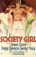 SOCIETY GIRL, 1932 - Sporting-Movie-Posters