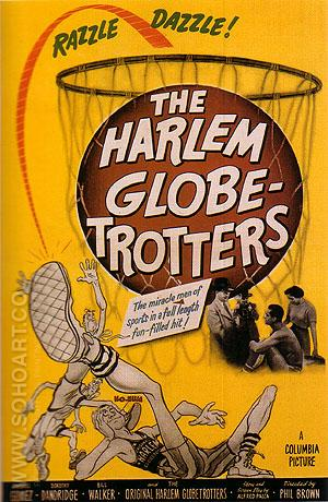 THE HARLEM GLOBE-TROTTERS, 1952 - Sporting-Movie-Posters reproduction oil painting