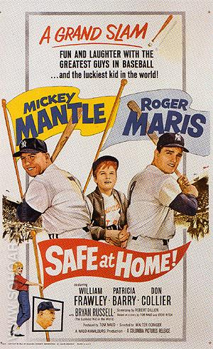 SAFE AT HOME!, 1962 - Sporting-Movie-Posters reproduction oil painting
