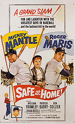 SAFE AT HOME!, 1962 - Sporting-Movie-Posters