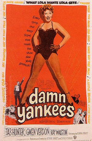 DAMN YANKEES, 1958 - Sporting-Movie-Posters reproduction oil painting