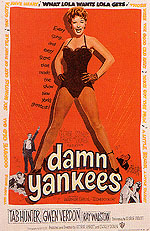 DAMN YANKEES, 1958 - Sporting-Movie-Posters