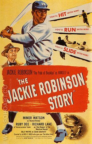 THE JACKIE ROBINSON STORY, 1950 - Sporting-Movie-Posters reproduction oil painting