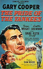 THE PRIDE OF THE YANKEES, 1949 - Sporting-Movie-Posters