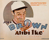 ALIBI IKE, 1935 - Sporting-Movie-Posters reproduction oil painting
