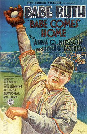 BABE COMES HOME, 1927 - Sporting-Movie-Posters reproduction oil painting