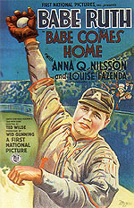 BABE COMES HOME, 1927 - Sporting-Movie-Posters