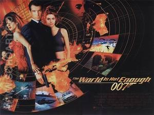 The World Is Not Enough, 1999 - James-Bond-007-Posters reproduction oil painting