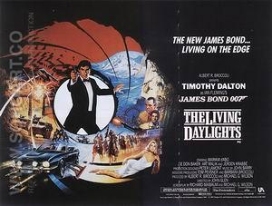 The Living Daylights, 1987 - James-Bond-007-Posters reproduction oil painting